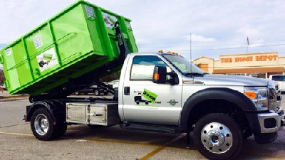 Bin There Dump That Truck and Dumpster at Home Dep